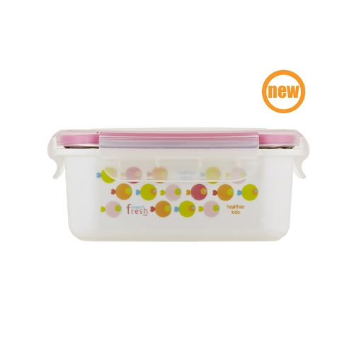Keepin' Fresh Kids Stainless Bento - Fish Pink