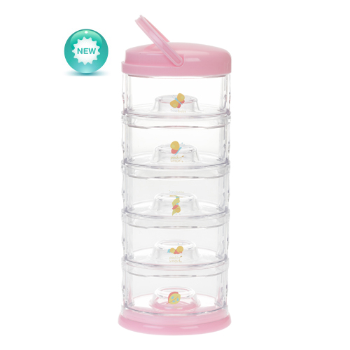 Packin Smart 5 Tier Snack Stacker - Bubblegum Butterfly