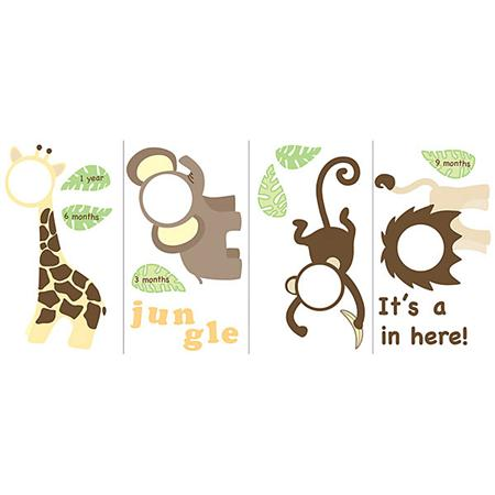 Wallpops It's A Jungle In Here Wall Art Kit
