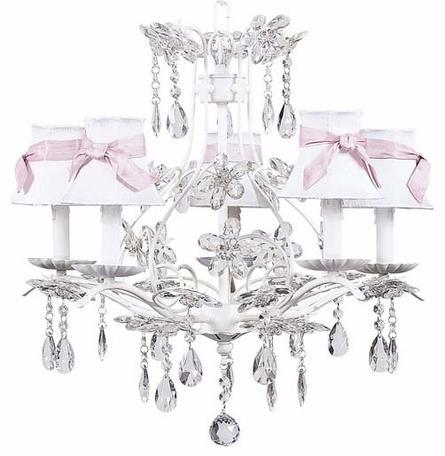 White Cinderella Chandelier
