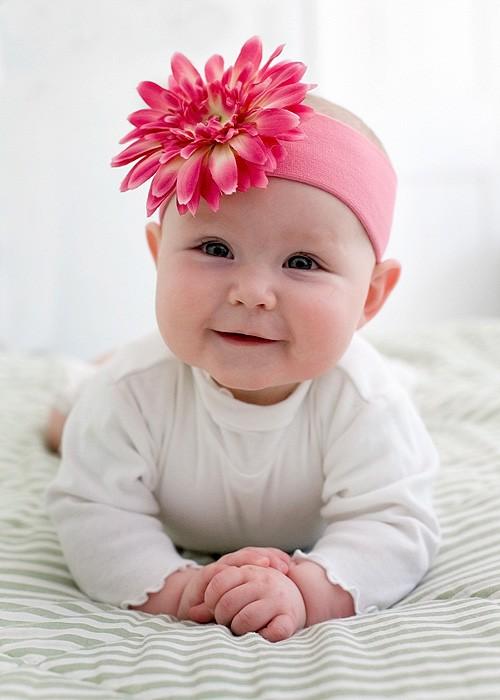 Candy Pink Daisy Headband