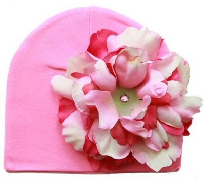 Candy Pink Hat Pink Raspberry Peony