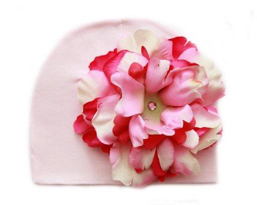 Pale Pink Hat Pink Raspberry Peony