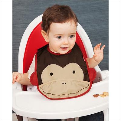 Skip Hop Monkey Bib