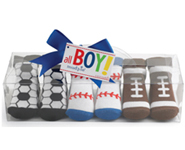 Mud Pie Sport Ball Sock Set