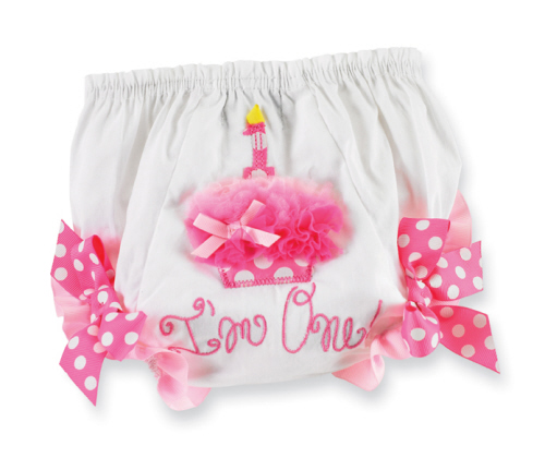 Mud Pie Party Time First Birthday Bloomers