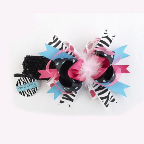 Mud Pie Wild Child Zebra Headband