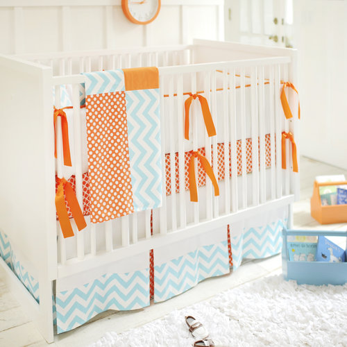 Orange Crush Baby Bedding