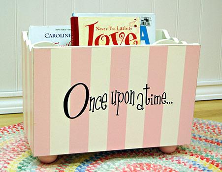 Pink Stripe Bookholder