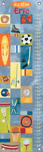 All-Star Boy Oopsy Daisy Growth Chart