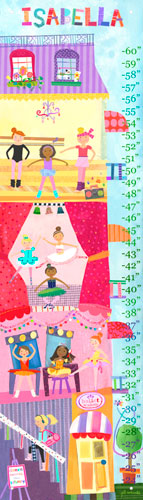 Ballet Academy Oopsy Daisy Growth Chart