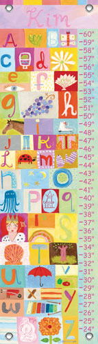 Customized Girl Growth Chart