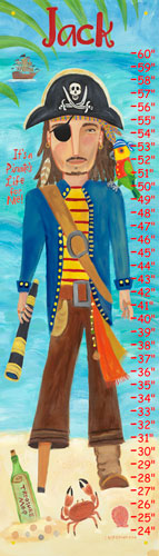 Pirate Growth Chart