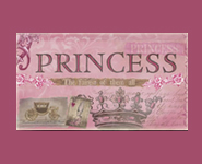 Fairest of Them All Canvas Reproduction - Pink