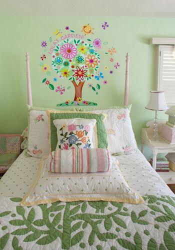 Flower Tree Peel & Place Wall Stickers