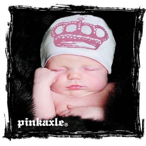 Pink Axle White w/ Pink Tiara