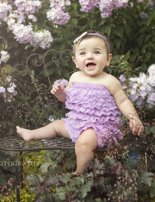 Prissy Piggies Couture Rompers-Purple