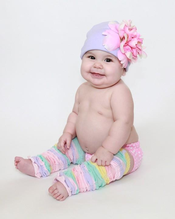 Lavender Hat with Pale Pink Peony