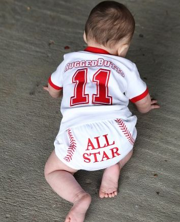 RuggedButts All Star Diaper Cover