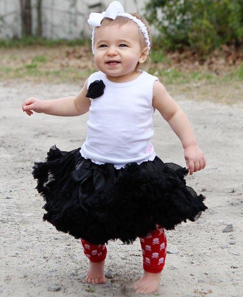 Precious Petti Skirt Black