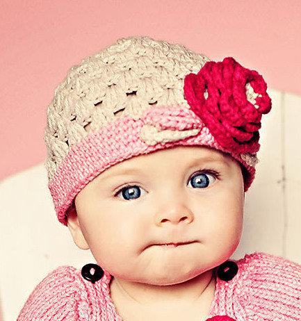 RuffleButts Sweet Beanie - Ella Grace