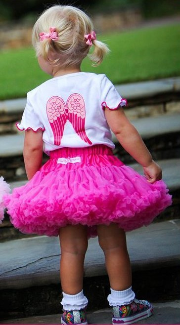 Precious Petti Skirt - Fuchsia
