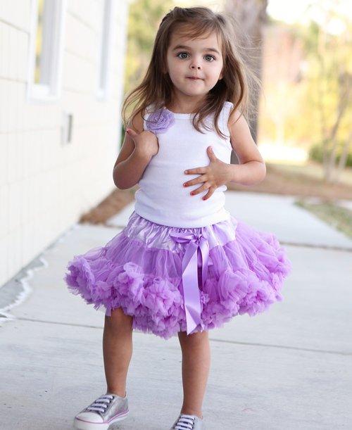 Precious Petti Skirt Lavender