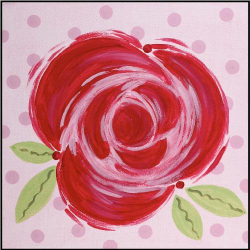 Red Rose Imagination Square