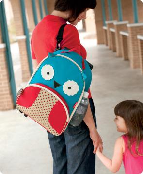 Zoo Luggage- Owl