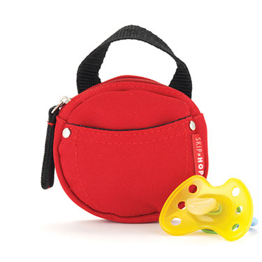 Pacifier Pocket- Red