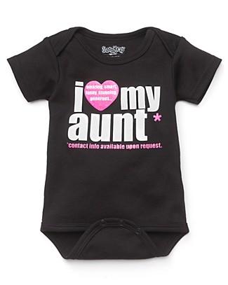 I Love My Aunt - Black