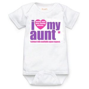 I Love My Aunt - Purple