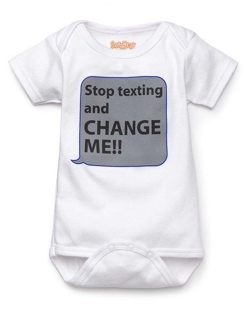 Stop Texting... Onesie