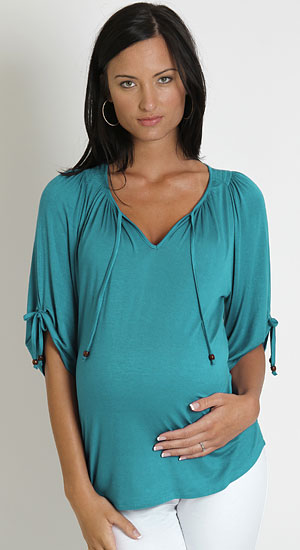 Everly Grey Robyn Tunic- Sea Foam