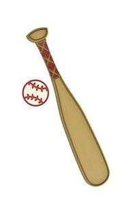 Twelve Timbers Baseball & Bat