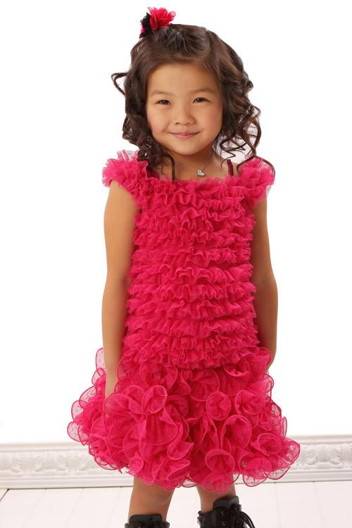 Raspberry Tutu Skirt