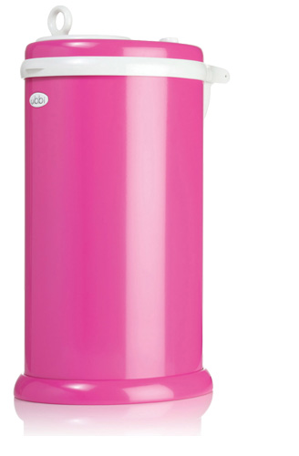 Ubbi Diaper Pail - Hot Pink