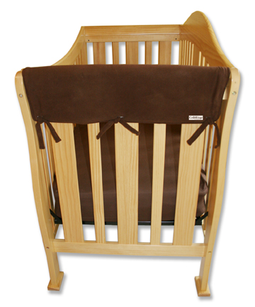 Crib Wrap - 2 Side Rail Covers